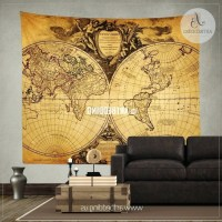 The Best Vintage Map Wall Art