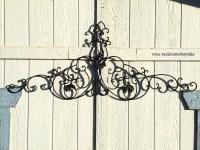 15 Best Collection of Wrought Iron Garden Wall Art