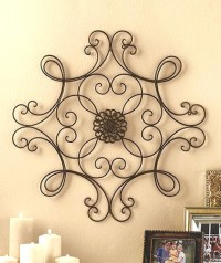 2018 Popular Faux Wrought Iron Wall Art