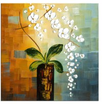 2018 Popular Abstract Floral Wall Art