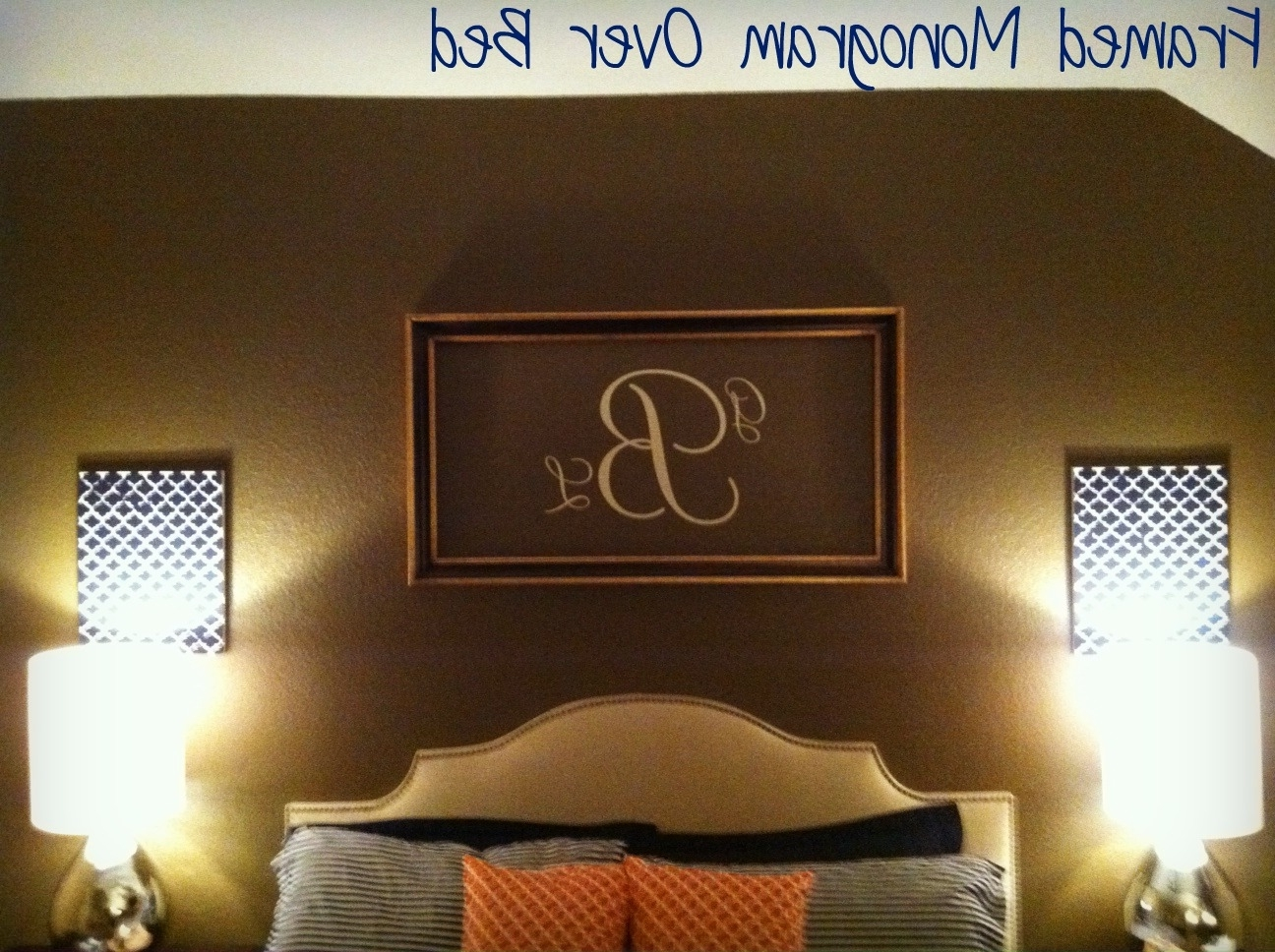 gallery of framed monogram wall art view of photos