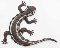 2018 Latest Gecko Outdoor Wall Art