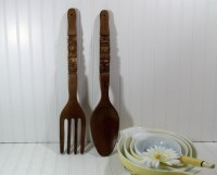 Spoon And Fork Wall Decor