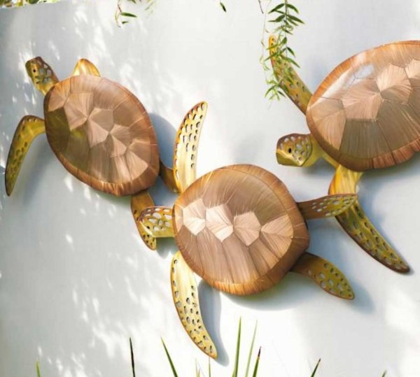 Collection Of Outdoor Metal Turtle Wall Art