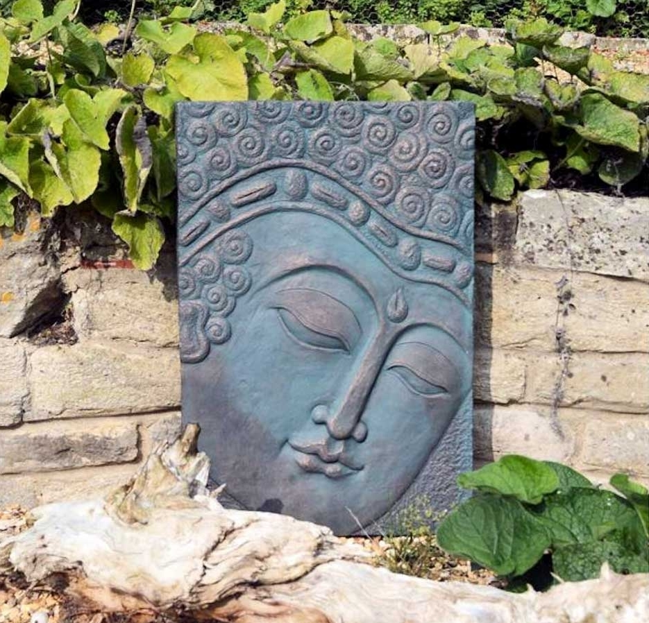 Outdoor Buddha Wall Art Listitdallas