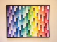 15 Photos Paint Swatch Wall Art