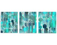 15 Best Collection of Turquoise And Black Wall Art