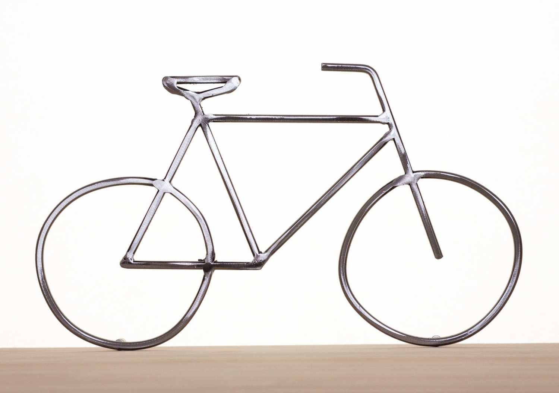 Article Metal Dirt Bike Wall Art