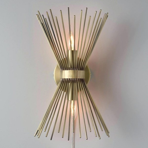 hot sale online 44c41 80e9e Chandelier Metal Wall Decor - Year of Clean Water