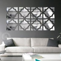 15 Collection of Mirrors Modern Wall Art