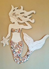 Mermaid Wall Art - ideasplataforma.com