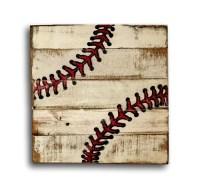 2018 Popular Vintage Baseball Wall Art