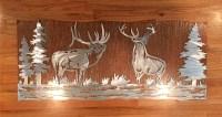 Perfect Metal Wildlife Wall Art Elaboration - Wall Art ...