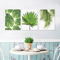 2019 Latest Palm Leaf Wall Decor