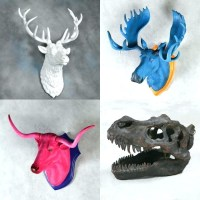 The Best Resin Animal Heads Wall Art