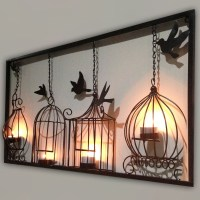Article: Metal Wall Art Decor 3D Mural