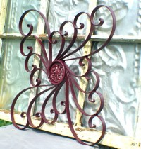 15 Best Collection of Wrought Iron Garden Wall Art