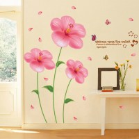 15 Best Collection of Pink Flower Wall Art