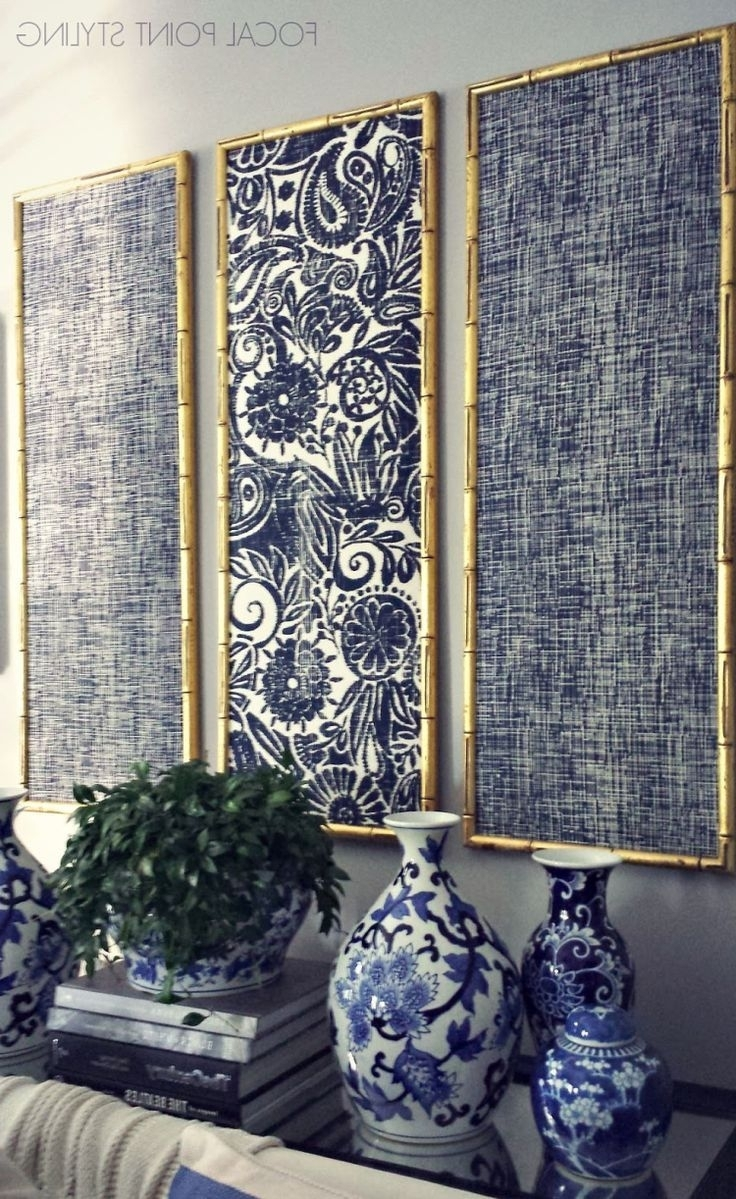 15 Best Ideas of Navy Blue Wall Art