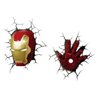 2018 Best of The Avengers 3D Wall Art Nightlight