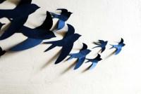 15 Photos Birds In Flight Metal Wall Art