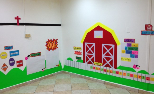 15 Photos Preschool Wall Decoration