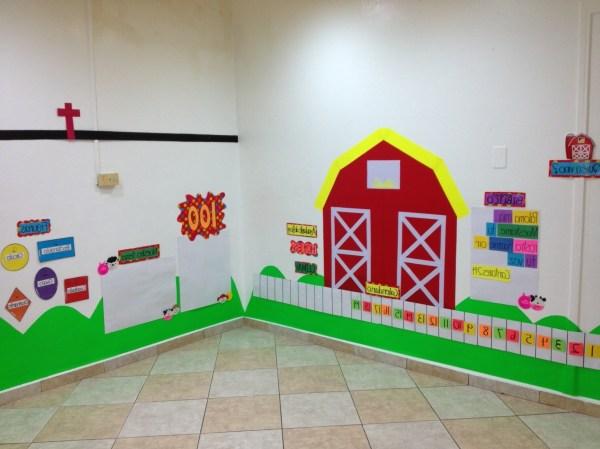 Preschool Classroom Wall Decorations