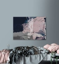 15 Best Ideas of Navy Blue Wall Art