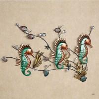 The Best Metal School Of Fish Wall Art