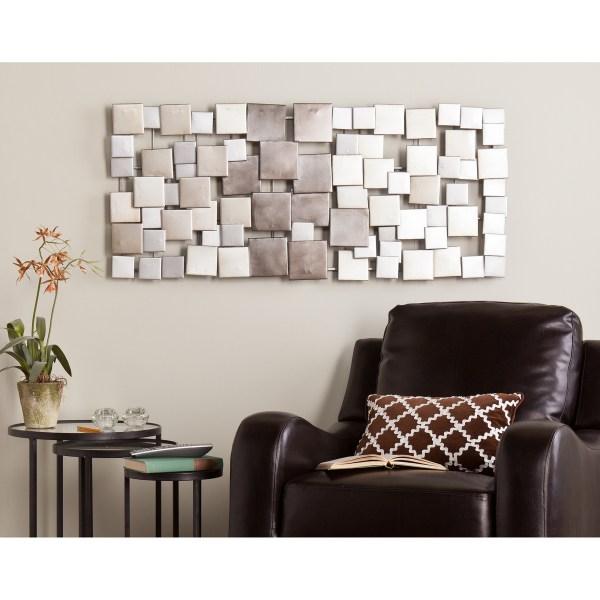 Ideas Of Rectangular Metal Wall Art