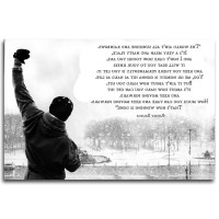 15 Best Collection of Rocky Balboa Wall Art