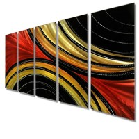 The Best Black And Gold Abstract Wall Art