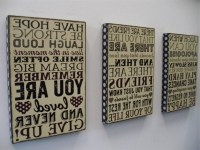 The Best Wooden Word Art For Walls