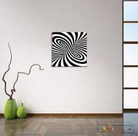 2018 Latest Optical Illusion Wall Art