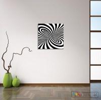 2018 Latest Optical Illusion Wall Art