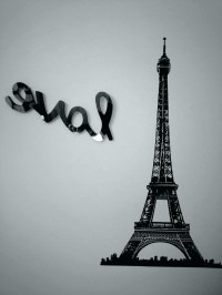 15 Inspirations of Eiffel Tower Metal Wall Art