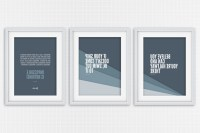 15 Best Collection of Inspirational Wall Art For Office
