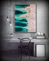 15 Best Collection of Coastal Wall Art Canvas