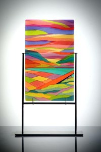 Top 15 of Fused Glass Wall Art Panels