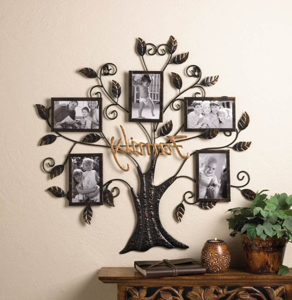 Family Tree Wall Hanging Picture Frames