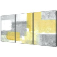 15 Inspirations of Yellow And Grey Wall Art