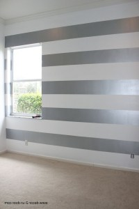 Fancy Painting Horizontal Stripes On Walls Ideas
