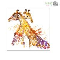 Best 15+ of Giraffe Canvas Wall Art
