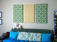 15 Best Ideas of Fabric Wall Art Panels