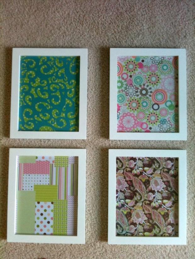 Fabric Wall Art Diy - Home Design Ideas