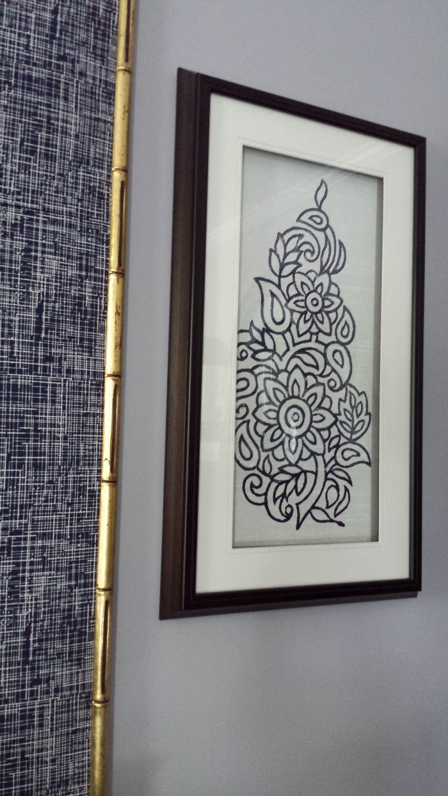 15 Collection of Ikat Fabric Wall Art