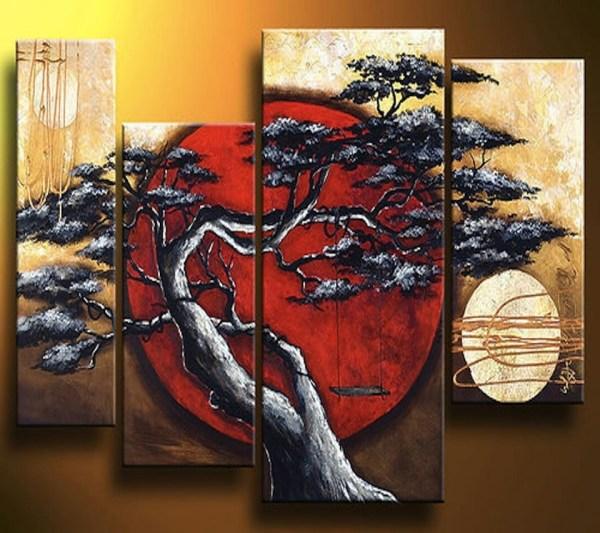 Abstract Asian Art Prints