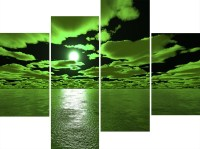 Top 15 of Lime Green Canvas Wall Art