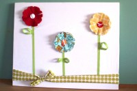 15 Best Ideas of Fabric Flower Wall Art