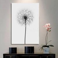 2018 Popular Dandelion Canvas Wall Art